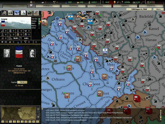 games similar to Darkest Hour: A Hearts of Iron Game