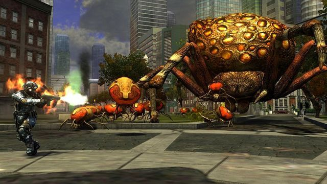 games similar to Earth Defense Force: Insect Armageddon