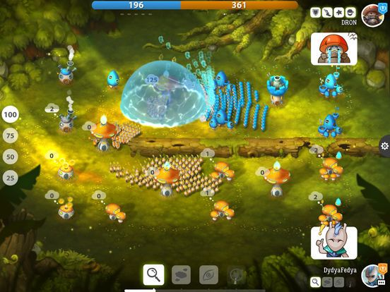 games similar to Mushroom Wars 2