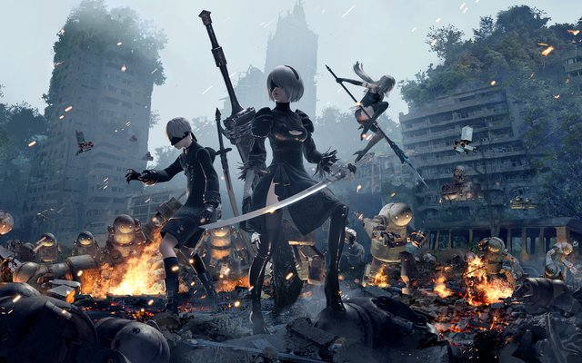 games similar to NieR:Automata