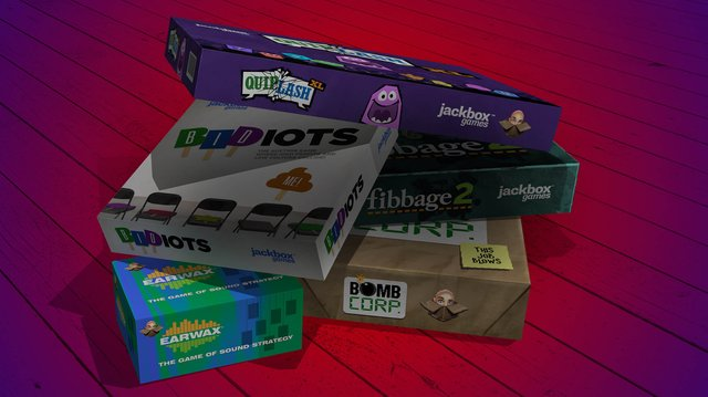 games similar to The Jackbox Party Pack 2