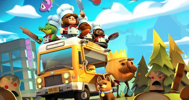 games similar to Overcooked! 2