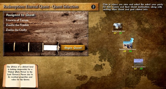games similar to Redemption: Eternal Quest