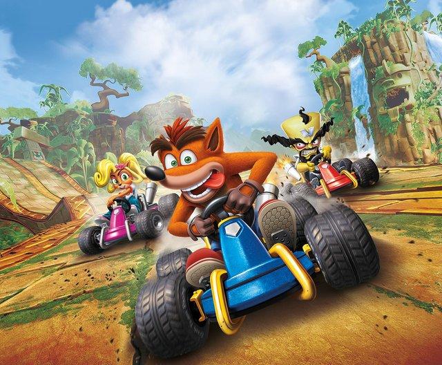games similar to Crash Team Racing Nitro Fueled