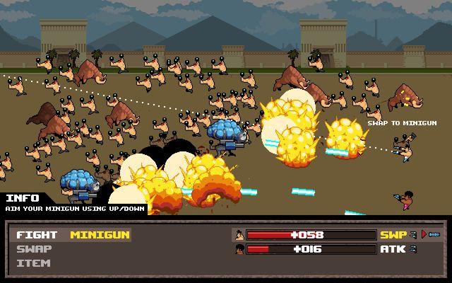 games similar to Serious Sam: The Random Encounter