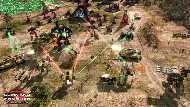 games similar to Command & Conquer 3: Kane's Wrath