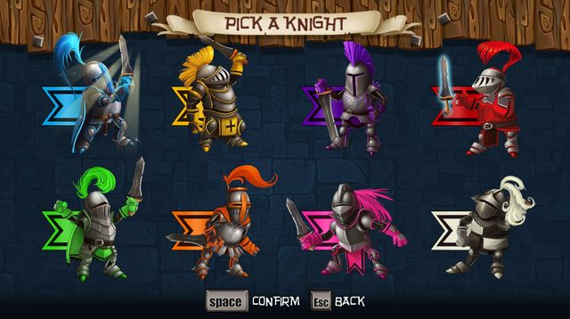 games similar to Knight Squad