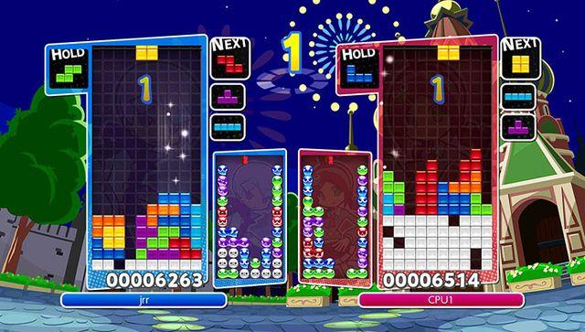 games similar to Puyo Puyo Tetris