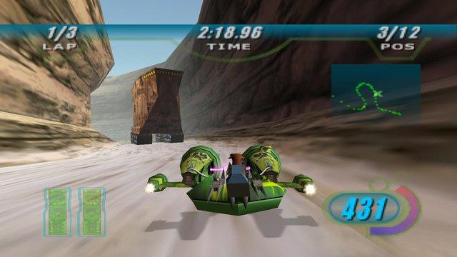 games similar to STAR WARS Episode I Racer