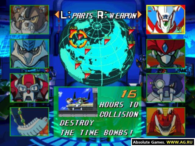 games similar to Mega Man X5