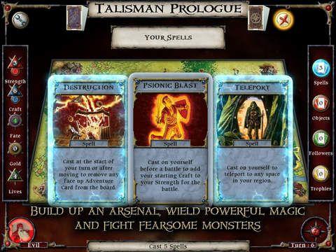 games similar to Talisman: Prologue