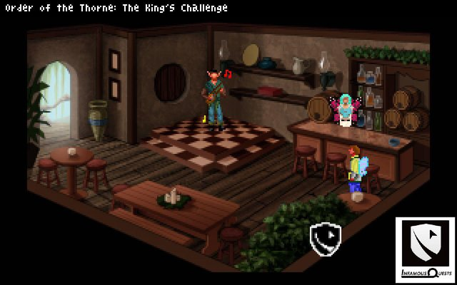 games similar to The Order of the Thorne   The King's Challenge
