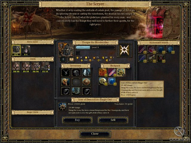 games similar to Warhammer: Mark of Chaos