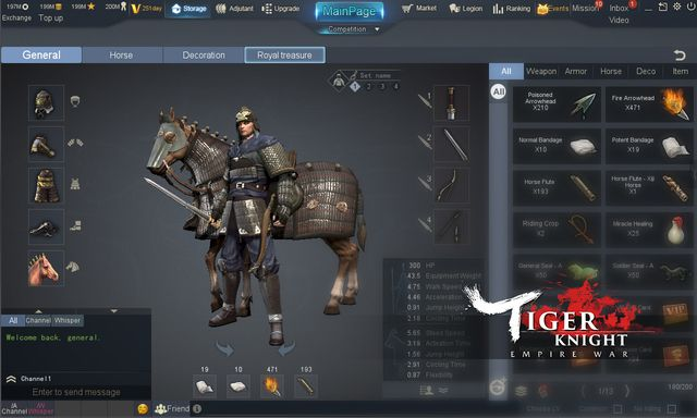 games similar to Tiger Knight: Empire War
