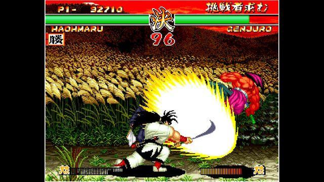 games similar to ACA NEOGEO SAMURAI SHODOWN II