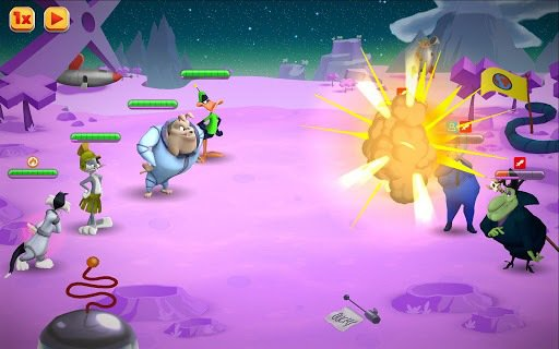 games similar to Looney Tunes World of Mayhem