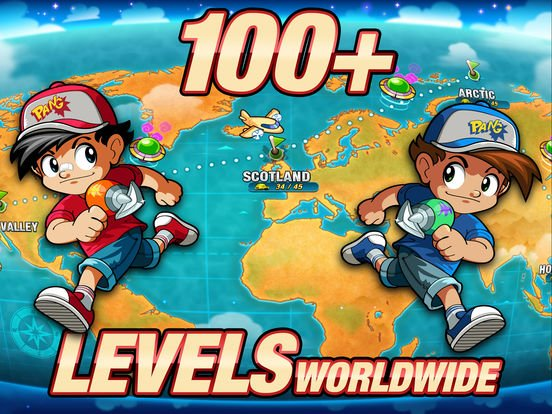 games similar to Pang Adventures