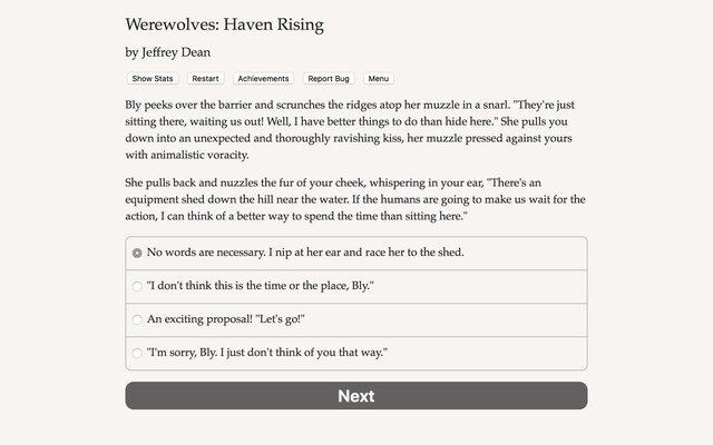 games similar to Werewolves: Haven Rising