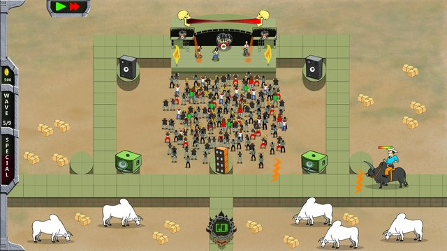games similar to Rock 'N' Roll Defense