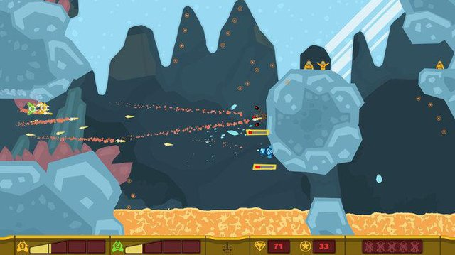 games similar to PixelJunk Shooter