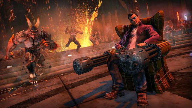 games similar to Saints Row IV: Re Elected & Gat out of Hell