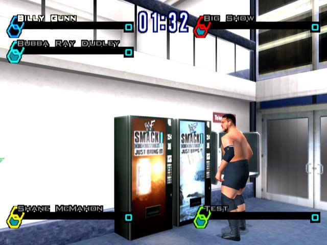 games similar to WWF SmackDown! Just Bring It