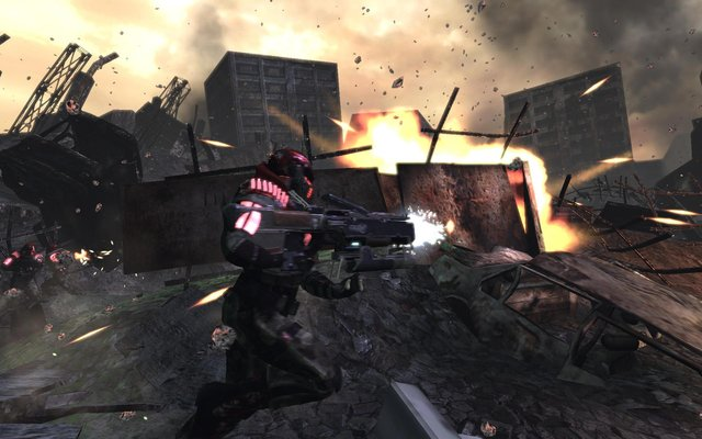 games similar to Warmonger, Operation: Downtown Destruction