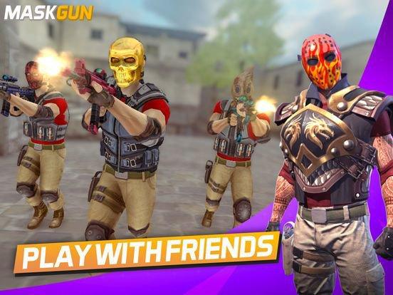 games similar to MaskGun Multiplayer FPS