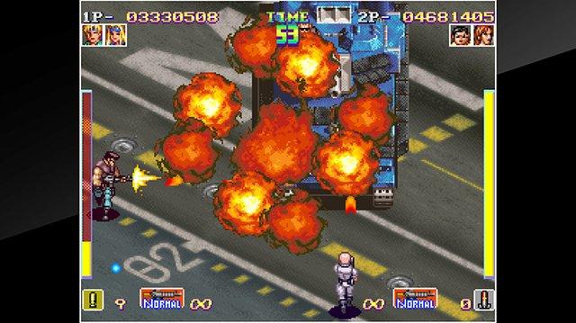 games similar to ACA NEOGEO SHOCK TROOPERS