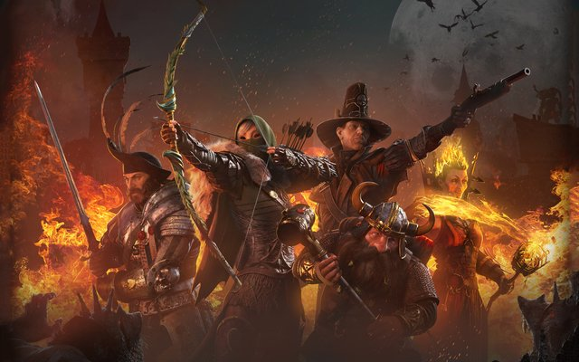 games similar to Warhammer: End Times   Vermintide