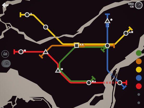 games similar to Mini Metro