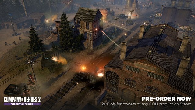 games similar to Company of Heroes 2   The British Forces
