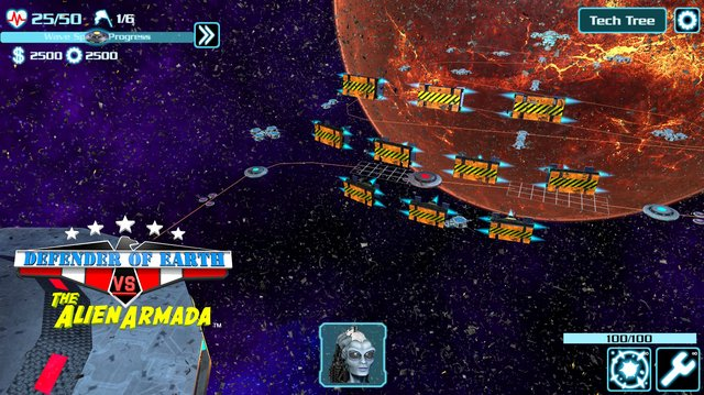 games similar to DEFENDER OF EARTH VS THE ALIEN ARMADA