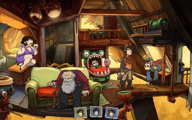 games similar to Goodbye Deponia