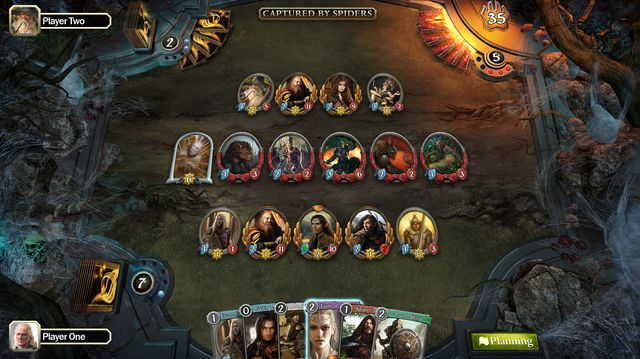 games similar to The Lord of the Rings Living Card Game