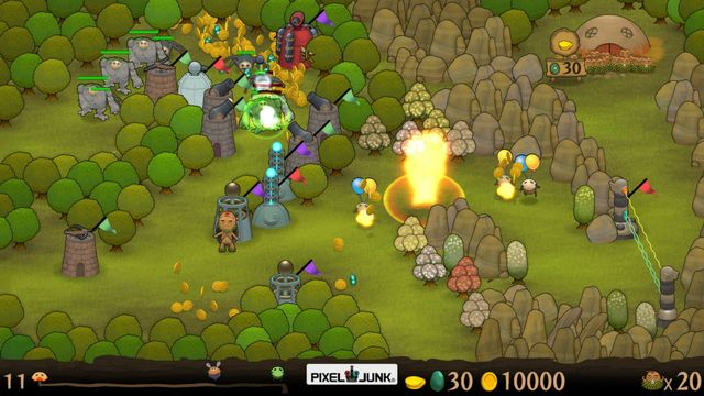 games similar to PixelJunk Monsters Ultimate