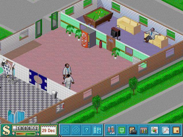 games similar to Theme Hospital